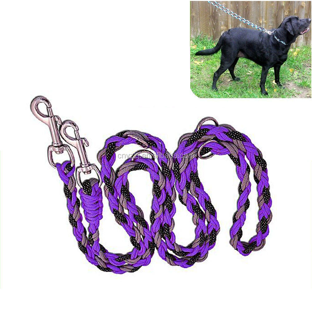 Manufacturer Paracord Dog Leash 6ft Long