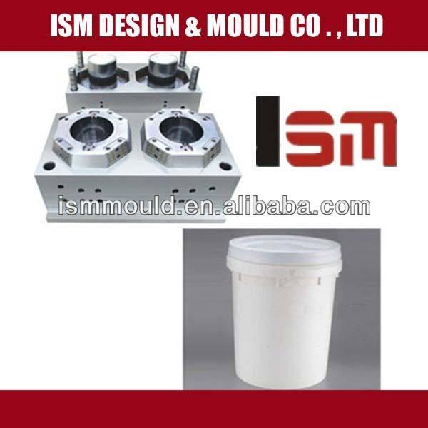 ISM-4 литра пластиковые ведра краски плесень