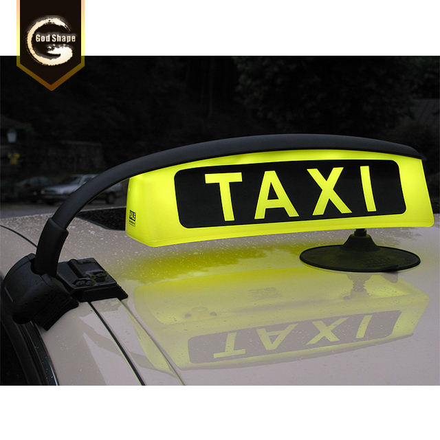 Hot sale professional led advertising display for car outdoor p5 taxi multi-color sign roof signs