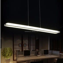 modern style 15-300w led pendant light chandelier rectangular square panel ceiling led light