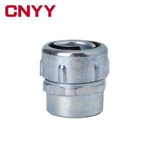 CNYY DPN Type Zinklegering End Stijl Unie Connector voor Metalen Flexibele Corrugated Conduit Pipes
