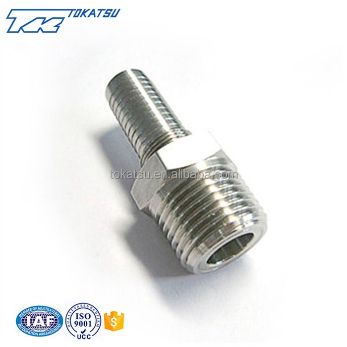 Cheap and high quality stainless steel bsp hydraulic hose connector