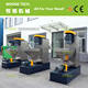 Recycling wshing line plastic vertical dewatering/drying machine