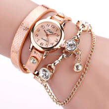 bracelet watch women wrist watches Hot sale fashion luxury bead pendant women Wristwatches