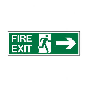 Custom factory price high quality fire safety warning sign