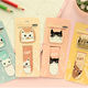 Hot sale wholesale personalized folding magnetic cute bookmarks for kids