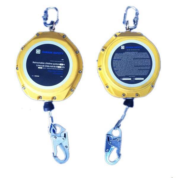 Wire rope an toàn sốc absorver huyết mạch tự-retracting huyết mạch để bán