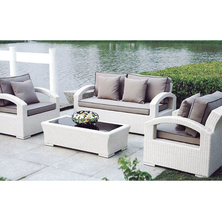 Popularly wicker patio furniture 9pc sofa sets outdoor patio furniture