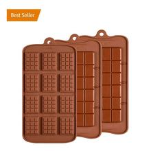 Heat resistant custom silicone chocolate mould for chocolate