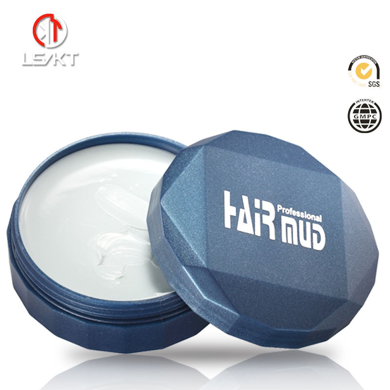 Wholesale long lasting strong hold hair care styling mud ,matt hair clay pomade
