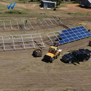 Ground Mounted PV Array Commercial solar system projects outdoor case
