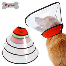 Large Pet Health After Surgery Elizabethan Collars Durable  Recovery Dog Cone Collar