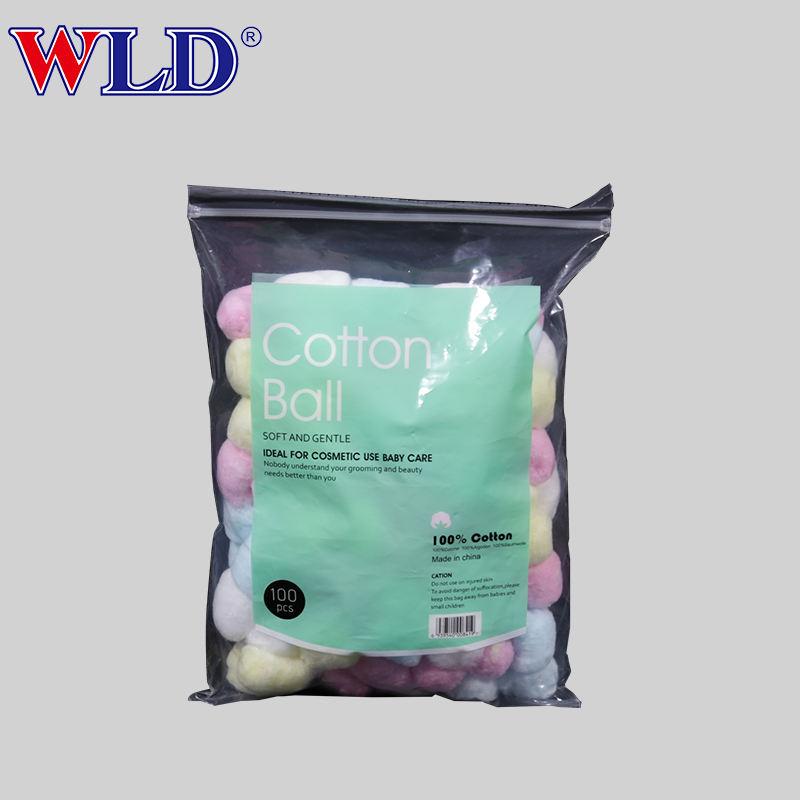 Bajo pelusa hidrófilo fácil de usar absorbible algodón médico