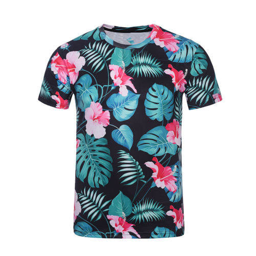 100% polyester dry fit tshirts full sublimation short sleeve wicking moisture tee