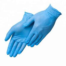 Latex Free Disposable Comfortable Textured Finger Tips Food Safety Cleaning Safety Nitrile Work Gloves