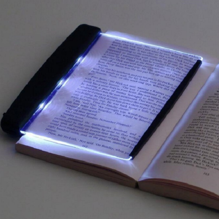 Portable Students Eye Protection Lighting Reading Panel Battery Powered Led Reading Lamp Creative Dimmable Book Lights