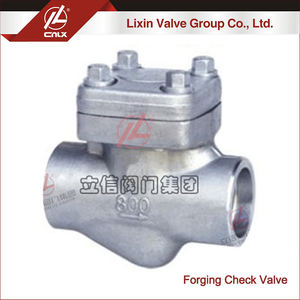 DN15 F11 F22 stainless steel forging SW check valve for wholesale