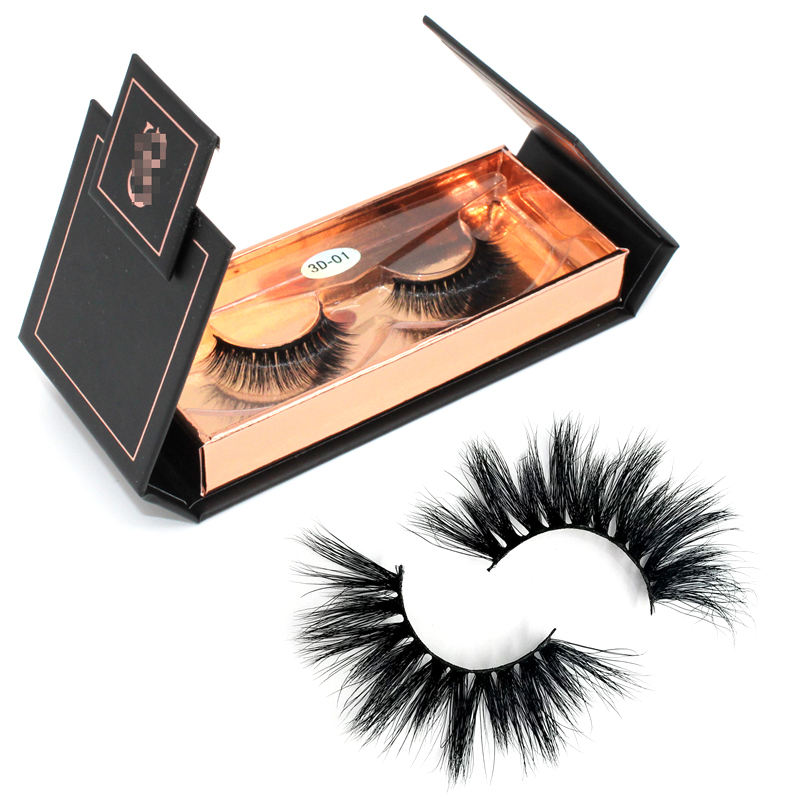 Wholesale Empty Eyelash Packaging Private Label Heart Shaped Cute Eye Lashes Custom Eyelash Packaging Box