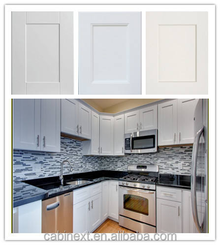 White Wood Kitchen Cabinets Factory OEM