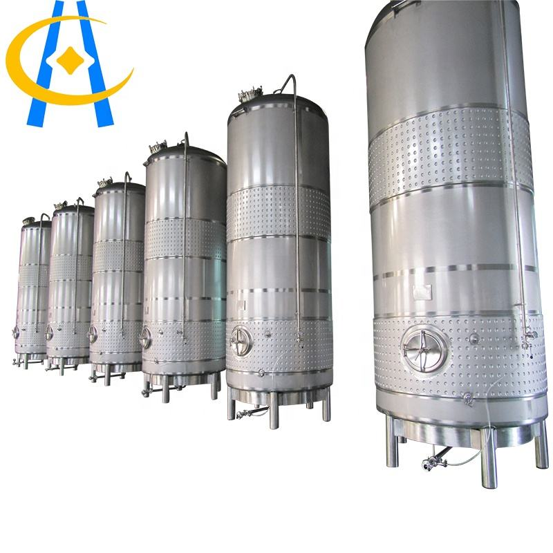 Alcohol [ Stainless Steel Tank ] Food Grade Stainless Steel 1000l Vertical Beer Storage Tank