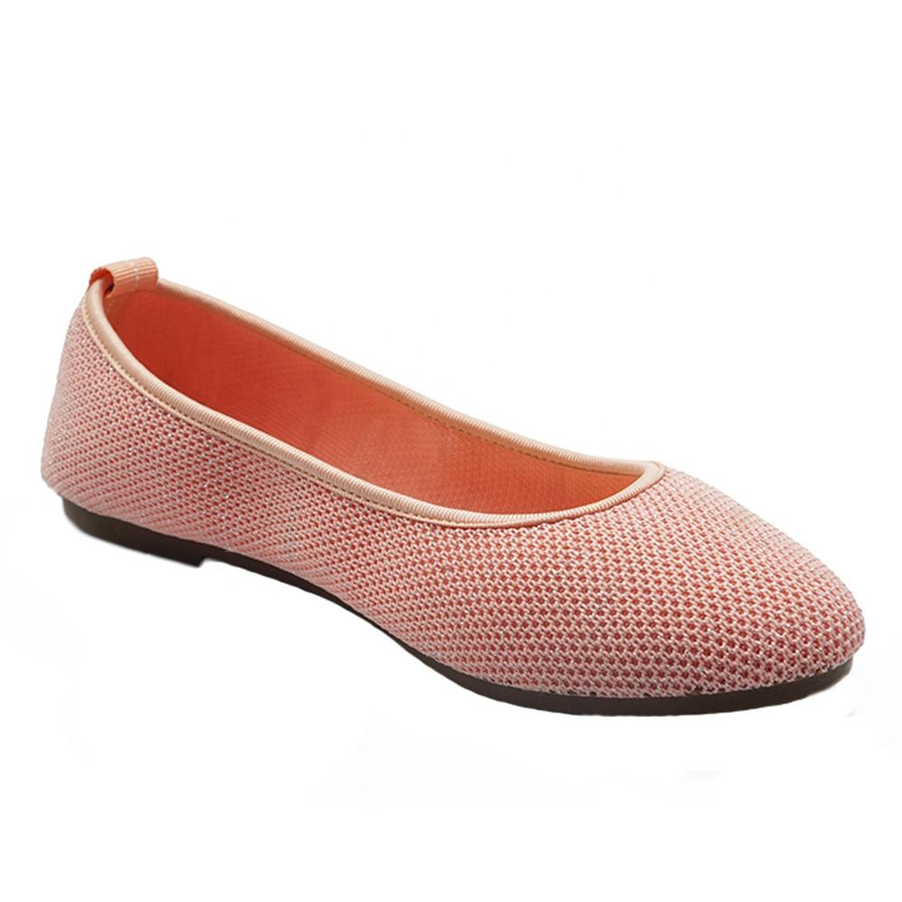 Not Stuffy Feet Footwear Ladies Flat Women Knitting Shoes and Casual Shoes