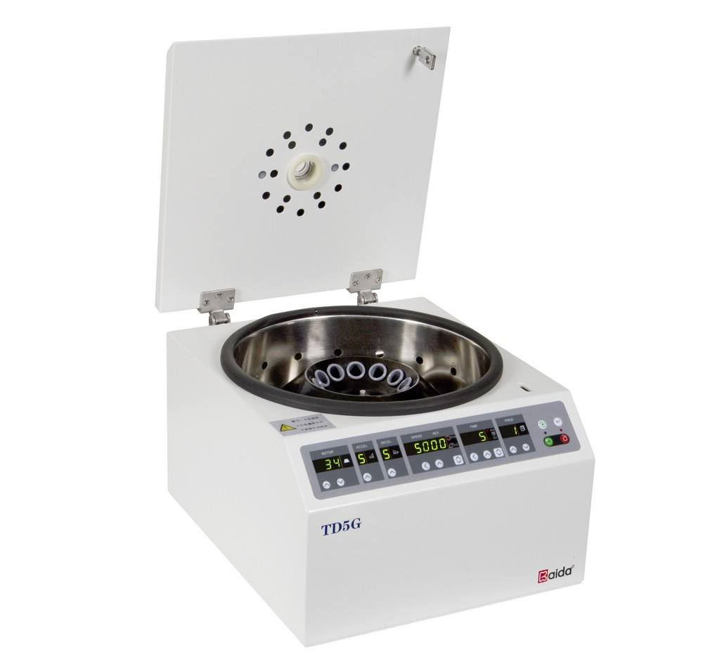 TD5G Economic low speed benchtop centrifuge machine
