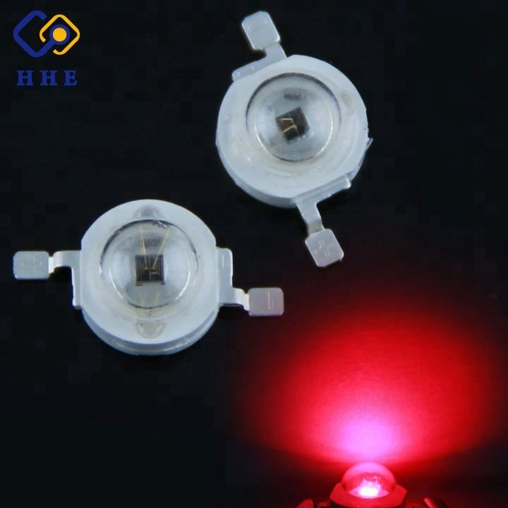 HH-3WP2BR12T 100% Guaranteed 3w 660nm/630nm red led(Professional Manufacturer)