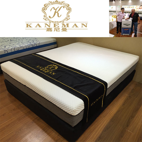 Luxury online sales colour box latex memory foam mattress