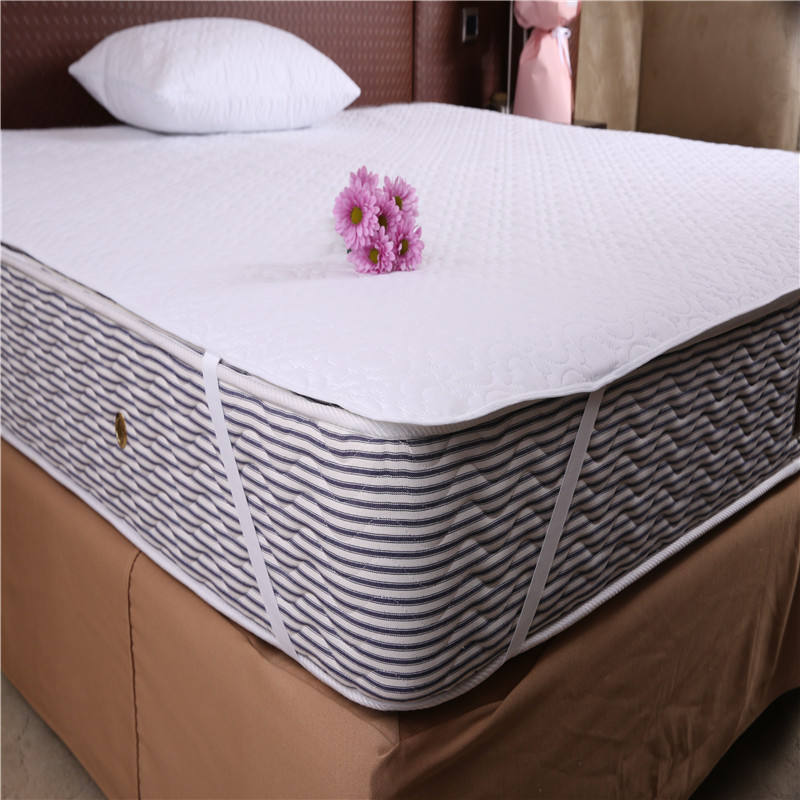 Hotel Quilted Mattress Pad Waterproof Quilted mattress pad cover Hotel waterproof bed protector