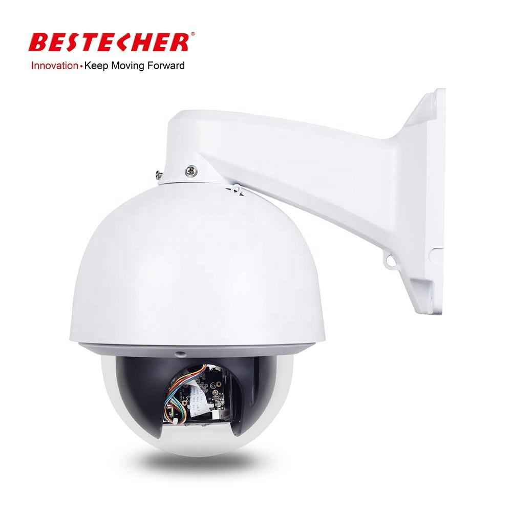 Bestech PTZ 6 inch Metal Housing RS485 +/- 30X Zoom Dome Camera 5MP AHD Dome Camera PTZ
