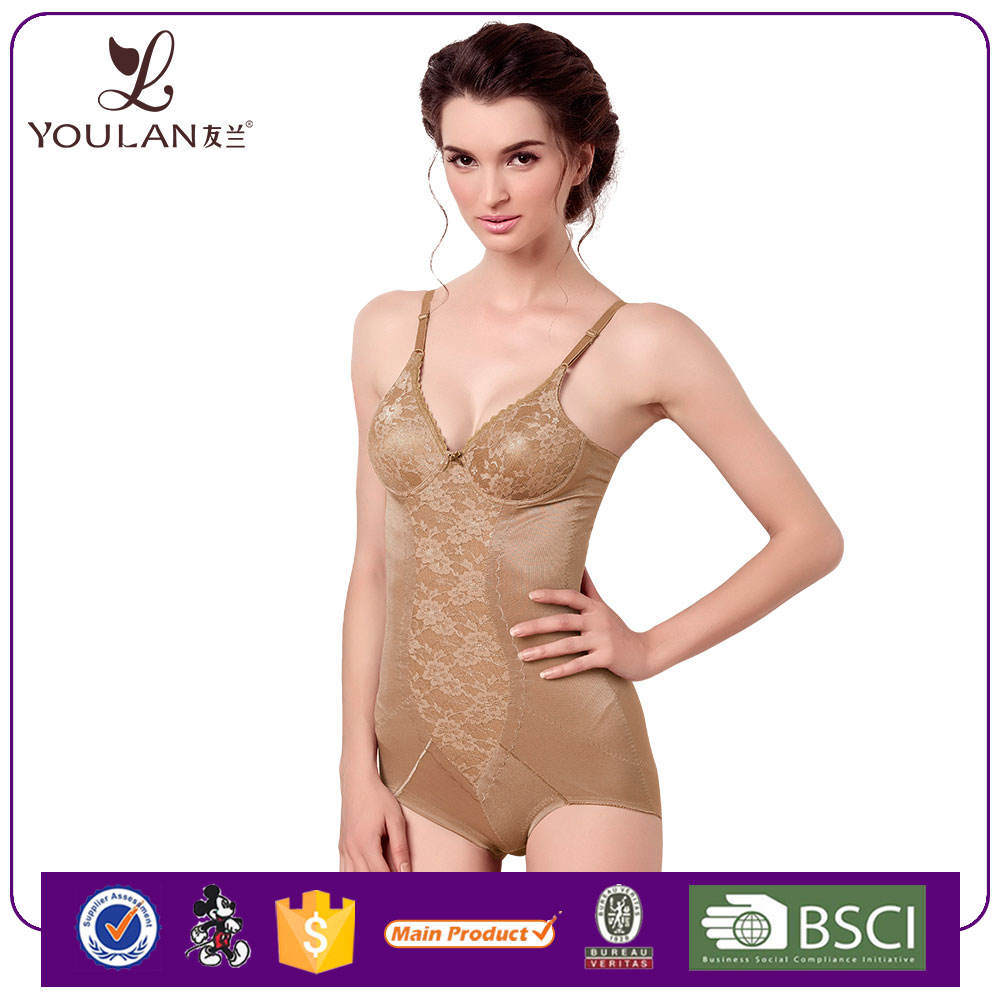 China Wholesale Good Quality One Piece Underwired Nylon Full Body Corset