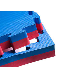 25MM blue & red Reversible bjj mats tatami mat 40mm eva mats