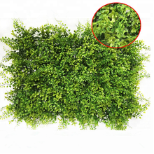 Evergreen Artificial Plastic Boxwood Grass Panel