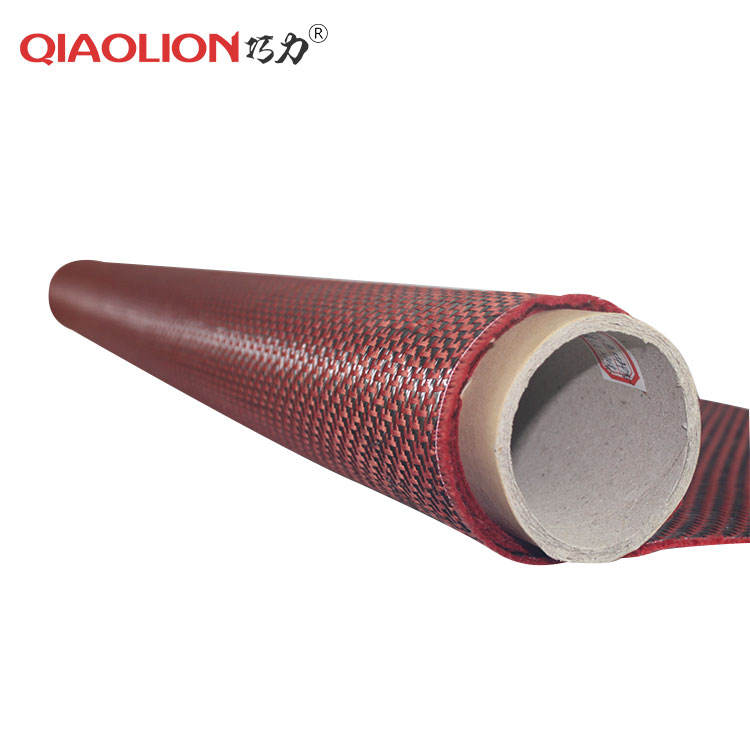 10-1500mm Width Fabric Cloth Aramid Fibers Carbon Fiber Cloth