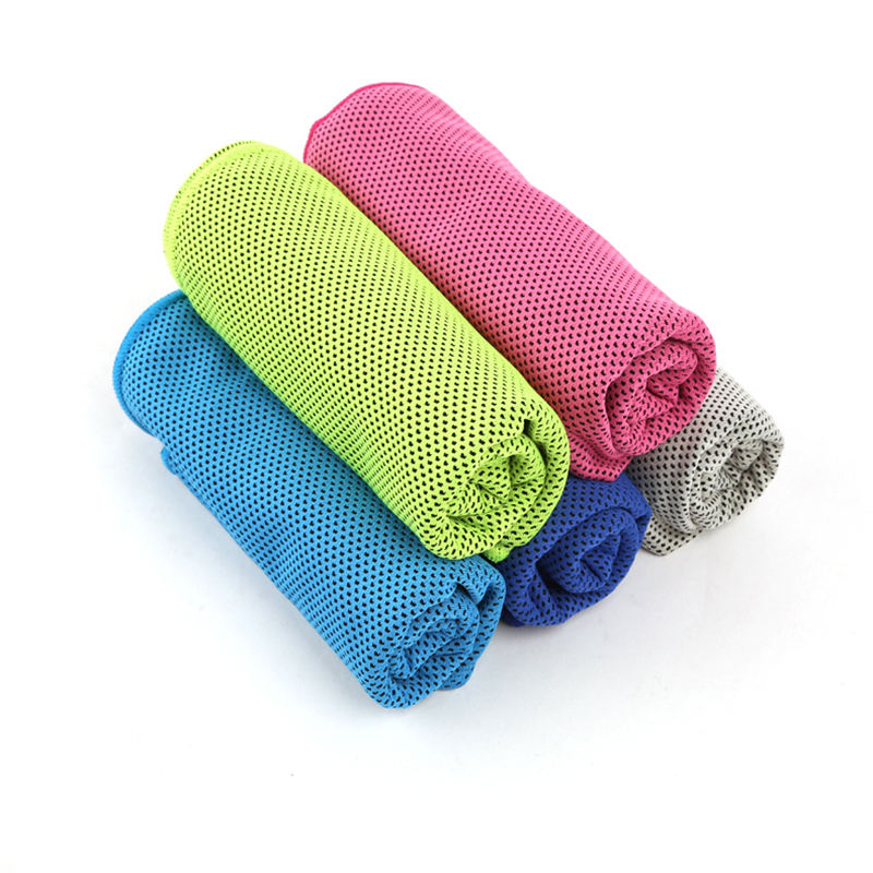 Manufacturers wholesale customized cool feeling ice towel sports towel microfiber cold towel