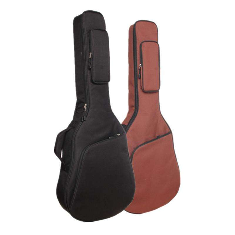2019 New Design Solid Brown Black 41' Waterproof High Quality Acoustic Bass Guitar Gig Case Bag Guitar