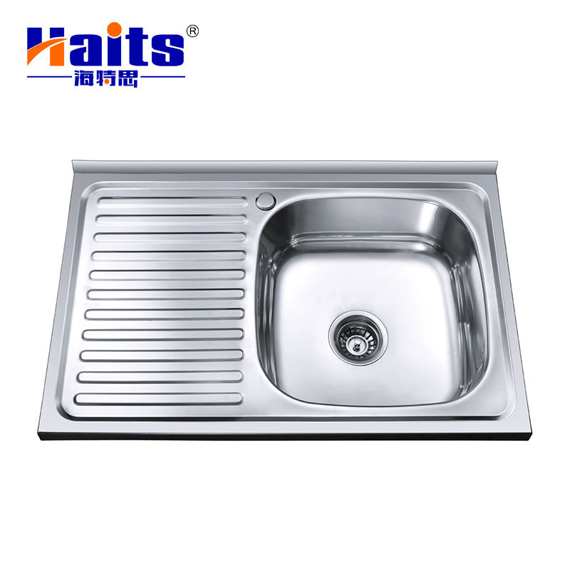 Unique Drainboard Stainless Steel Sink 304 Basin Deep Laundry Kitchen Sink For Cabinet