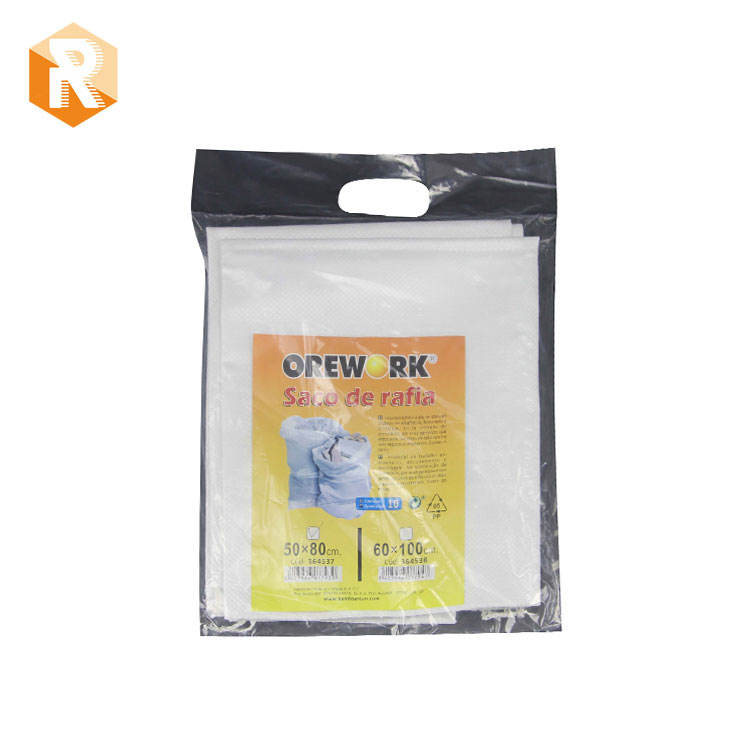 Industrial use pp garden waste bag and building garbage bag used for construction packing