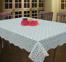 Oval table cloth Home Furnishing six people table PVC waterproof plastic tablecloths tablecloths