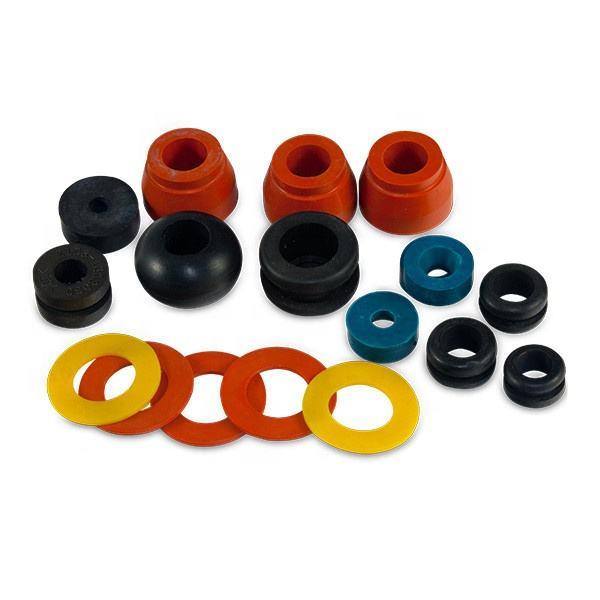 Custom rubber parts food grade silicon rubber grommet