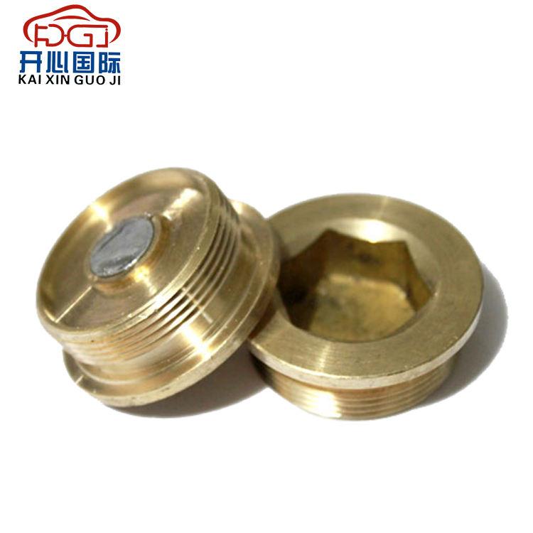 Titanium Magnet oil sump bolt M12x15 1.5mm pitch