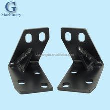 Sheet metal fabricated car bumper Bracket