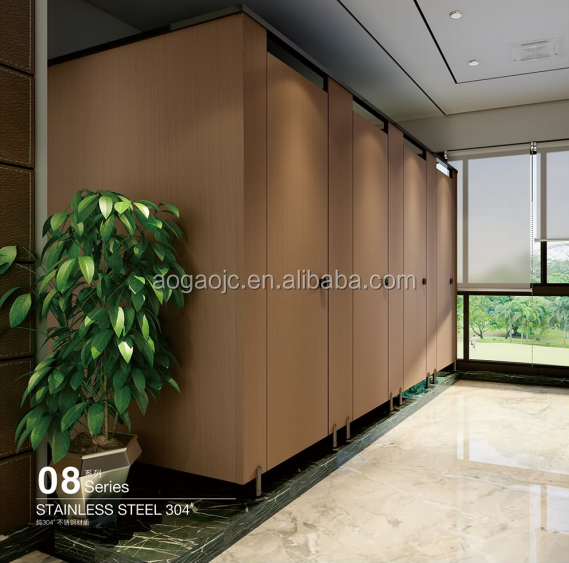 12mm compact hpl phenolic partition toilet partition