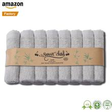 Ultra Soft Natural Sisal Hemp White Biodegradable Baby Sweat Towel Exfoliating Wash Cloth Baby Bath Mesh Washcloths