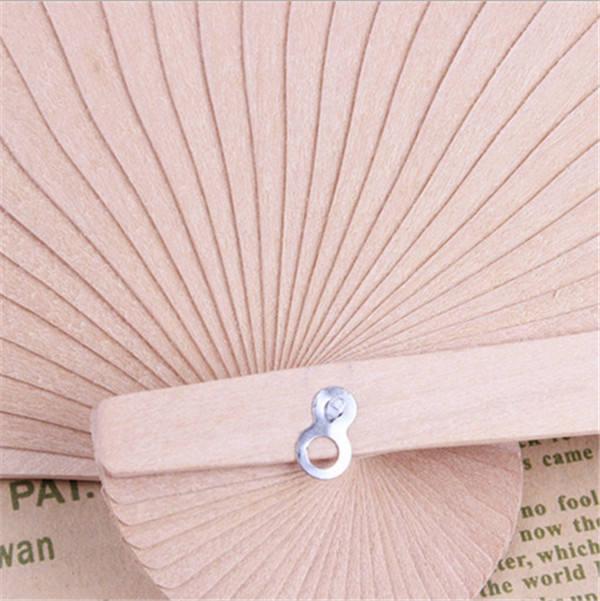 Wedding favors silk fan Chinese carved folding fragrance wood hand fan wedding fan