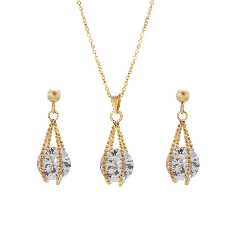 S-126 xuping di Alta qualità di modo 24 k color oro placcato oro delle Donne Insieme Dei Monili eleganti di
