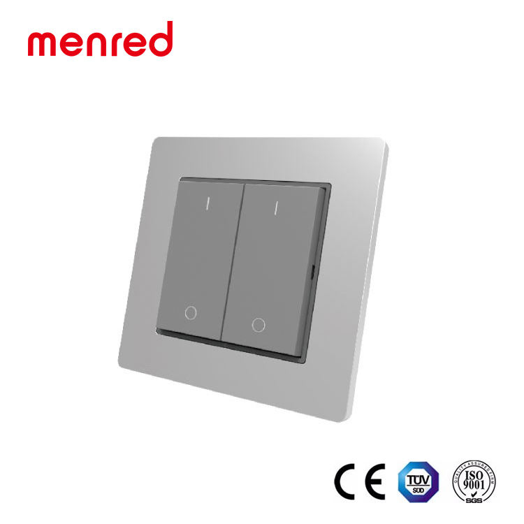 MENRED Home wall Solar power No battery No wiring wifi rf light switch