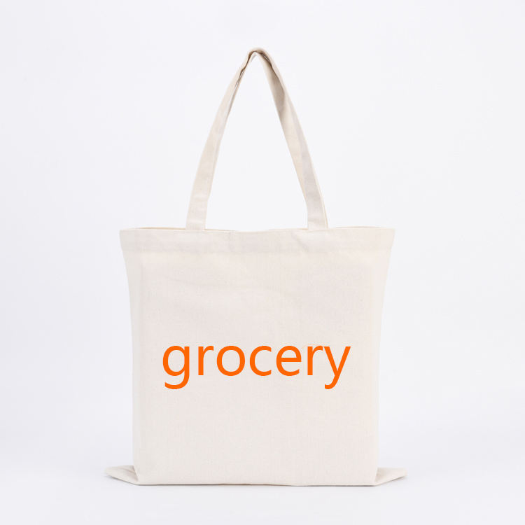 promotional plain canvas grocery tote bags bulk