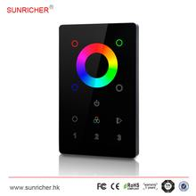 US standard LED glass plated wall panel controller,RF/DMX/DALI/1-10V optional
