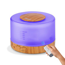 New Electric Essential Humidifier Aroma Oil Diffuser With Remoter Bluetooth Speaker